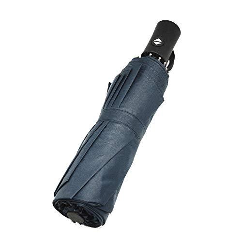 Paraguas Plegable, Compacto y Resistente al Viento. Paraguas con 10 Varillas reforzadas y Sistema de Apertura/Cierre automático.