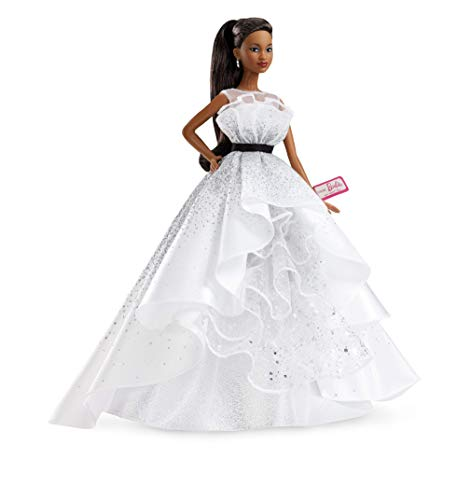 Barbie Collector: 60th Anniversary Doll, 11.5-Inch, Brunette, with Diamond-Inspired Gown and Wrist Tag???