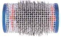 Comair 3011579 Lot de 12 rouleaux de fil avec poils Bleu 40 mm