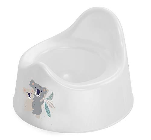 Rotho Babydesign Pot, 18+ mois, Motif Koala, Gamme Bella Bambina, Blanc, 20601 0001 CQ
