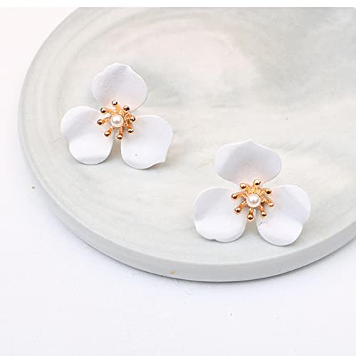SALAN Pendientes De Flores Bonitos De Boho para Mujer, Joyería Coreana, Regalos para Niñas, Pendientes De Moda