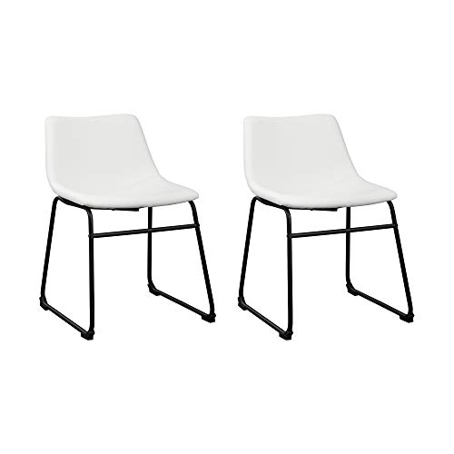 Signature Design by Ashley Centiar Dining Room Chair, White