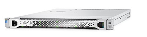 HPE 780019-S01 ProLiant DL360 Gen9 Server, 16 GB RAM, No HDD, Matrox G200, Silver