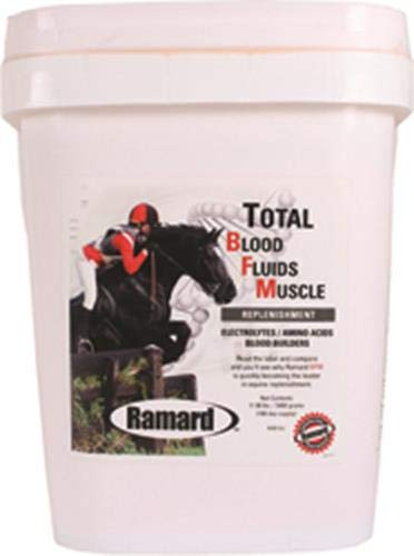 Ramard 079019 Total Blood Fluids Muscle Replenishment for Horses, 11.9 Lb/180 Day