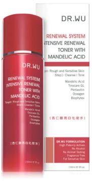 DR. WU Intensive Renewal Toner with Mandelic Acid 150ml -Reduce Dark...