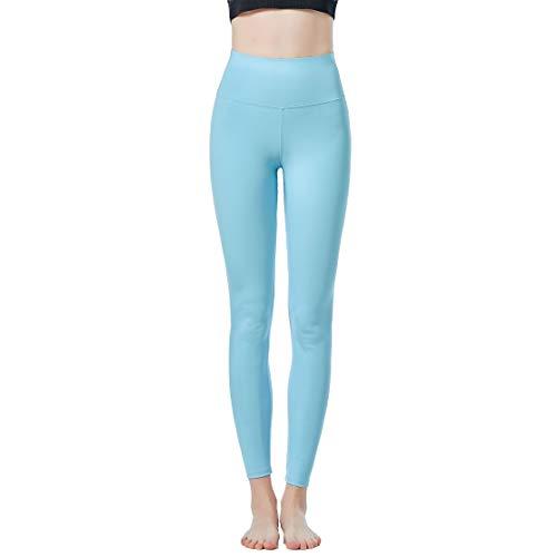 JOPHY & CO - Damen-Leggings, lang, bi-elastisch, aus Stoff (Artikelnummer: 9839), Transparent S