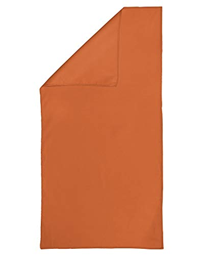 Fleuresse Microline 3450 - Toalla, Microfibra, Naranja, 90 x 180