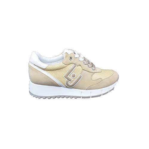 Scarpe da Donna Sneakers Liu Jo Gigi 02 in Tessuto Beige B19019PX02701127