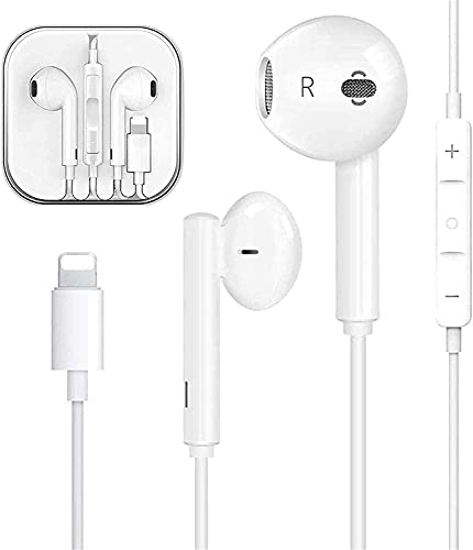 In-Ear for iPhone Earphones Earbuds Wired Headphones Noise Isolating...