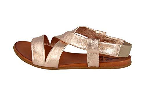 MUSTANG Sandalias Shoes en tallas grandes Bronce 8003-802-221 Zapatos grandes para Mujer,...