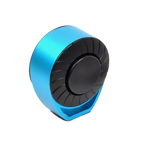 YDHWY Bicycle Bell Born Born Electronic Horn USB Recargable Scooter eléctrico Sound Anillo de Alarma Bell para Road MTB Accesorios para Bicicletas (Color : Blue)
