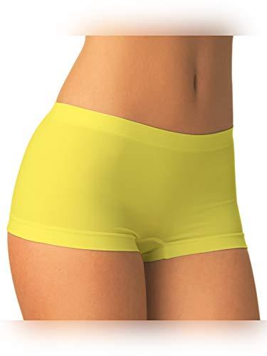 SENSI' Boxershort Damen Panty Nahtlos Mikrofaser Made in Italy
