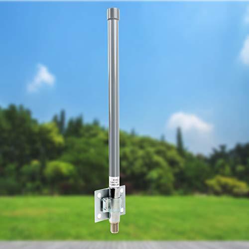CHHLIUT Outdoor 2.4G WiFi Fiberglass Antenna High Gain N Fale Connector Omnidirectional Antenna 5DBi