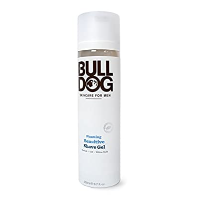 Bulldog Foaming Sensitive Shave Gel 200 ml by Bulldog Skincare