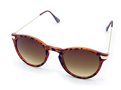 Kost Gafas de sol Hombre Mujer 100% protección UVA gafas Unisex UV400 - Clasica wayfarer (Carey Habana Classic)