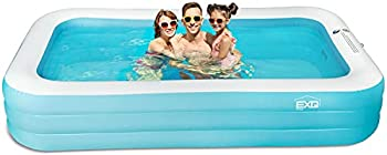 EXQ 120 Inch X 72 Inch X 22 Inch Inflatable Swimming Pool