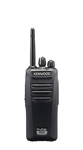Kenwood Electronics TK-3401DE 32channels 0.0125, 0.00625MHz Negro two-way radios - Walkie-Talkie (32 canales, 0.0125, 0.00625, LED, 14 h, 280 g, 54 x 35,5 x 122 mm)