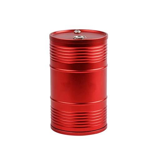NYKK Aschenbecher Metallgürtel Mit Deckel Aschenbecher Multifunktionale Kreative Büroraum Aschenbecher Zubehör Haushaltsaschenbecher (Color : Red)