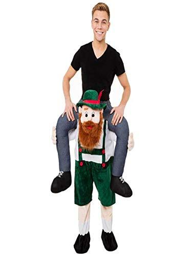 Halloween Mascot Me Guy Ride On Beer Oktoberfest Costume Ride on Costume