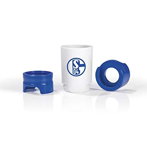 Taste Hero Flaschenaufsatz für Bier 1 Stück Fan-Edition FC Schalke 04 | Macht jede Bierflasche zum Zapfhahn | Für Glas- und PET-Flaschen, spülmaschinengeeignet