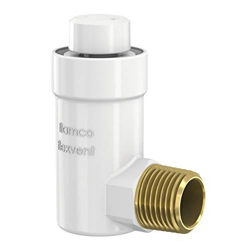 Válvula de purga de aire automática Flamco Flexvent H R½', blanca 27711