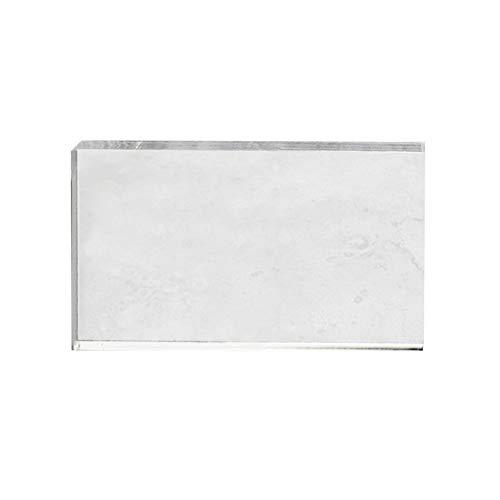 10 x 10 cm Viva Decor Bloque de acr/ílico para sellos de silicona