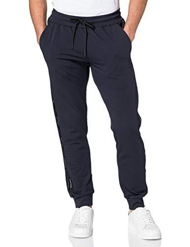 Antony Morato Herren Pantaloni SUPER Slim IN Felpa Con NASTRO LOGATO SU GAMBA Trainingshose, Ink Blu, XXL