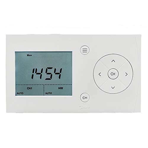Danfoss Randall Twin Channel Heating Timer (7-Day, 24 Hour, or 5 day/2-day Operation) 087N7882 FP720