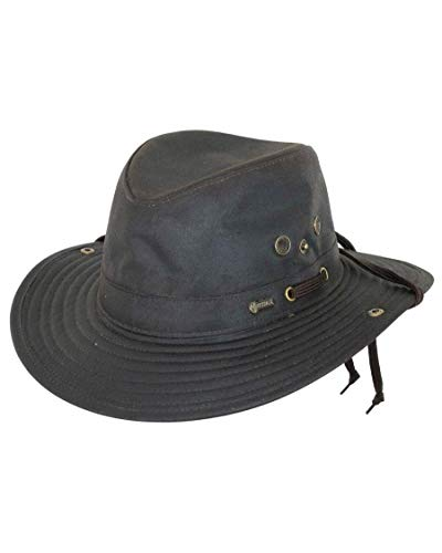 Outback Trading Oilskin River Hat M Brown
