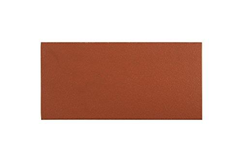 fliesenmax Spaltfliese Bodenfliese Spaltplatte uni rot 12x24cm Uni Farben