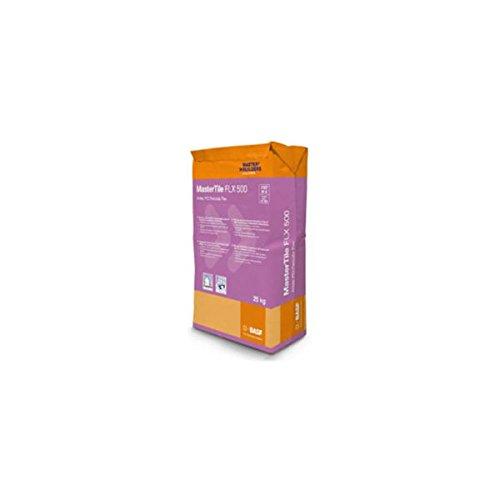 Basf mortel waterdicht voor zwembad Mastertile FLX 500 5 kg Kleur: wit.