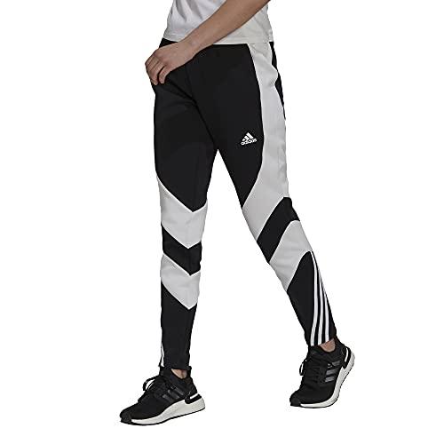 adidas W SCB Pants, Black/White, XS Women's