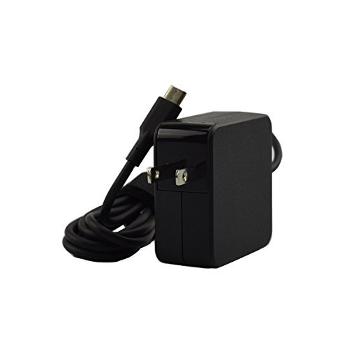 45W Type C Charger fit for Asus Chromebook Flip C302 C302C C302CA C302CA-DHM4 12.5 Inches Touchscreen Chromebook Laptop Portable AC Wall Charger Power Supply Adapter Cord