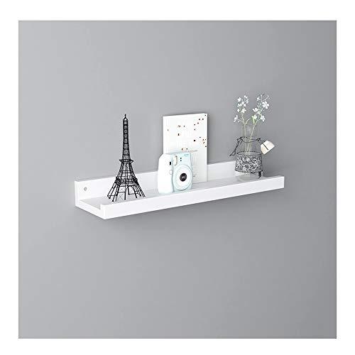 Expositor de madera con soporte de madera de roble para montaje en pared, flotantes, para interior y exterior, para decoración del hogar