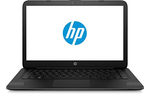 HP 14-ax040wm Laptop, Intel Celeron N3060, 1.6 GHz, 32 GB, Windows 10 Home 64 Bit, Black, 14""