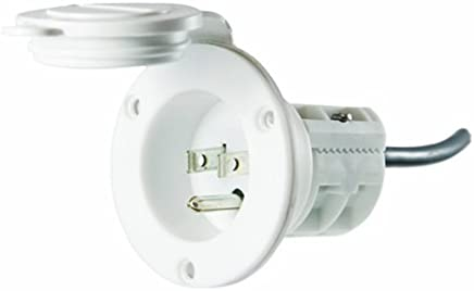MinnKota MKR-23 AC Power Port (White)