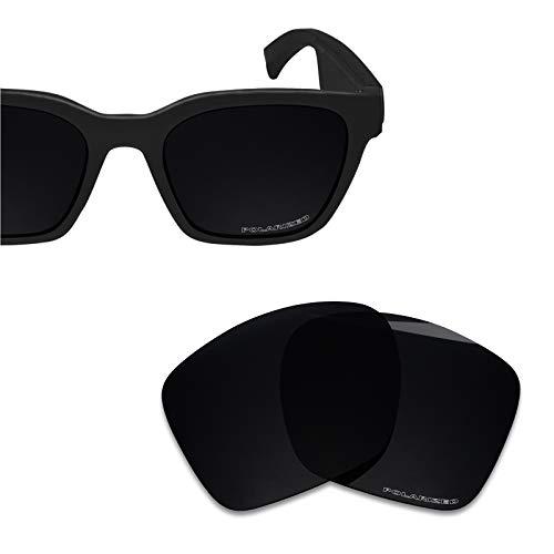 BlazerBuck Lentes de repuesto de policarbonato para gafas de sol Bose Alto S/M BMD0007 BMD0008, Negro Polarizado, Talla única