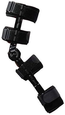 Pedales Estaticos ROM de rodilla de apoyo, la rodilla de la pierna médico inmovilizador aparatos ortopédicos Ortesis la rótula de la rodilla, ajustable completa de la rodilla de la pierna del estabili