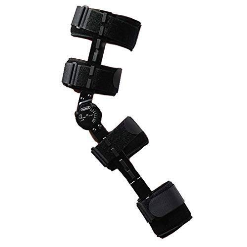Rodilleras médicas ROM de rodilla de apoyo, la rodilla de la pierna médico inmovilizador aparatos ortopédicos Ortesis la rótula de la rodilla, ajustable completa de la rodilla de la pierna del estabil