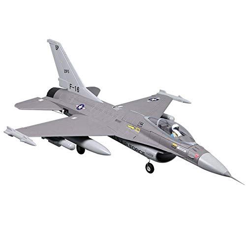 Lecez A distancia de 64 mm del conducto de control del avión regalo Fan Jet Warbird escala de grises de combate Aviones Modelo Hobby Principiante adulto del niño de vacaciones Fácil control de