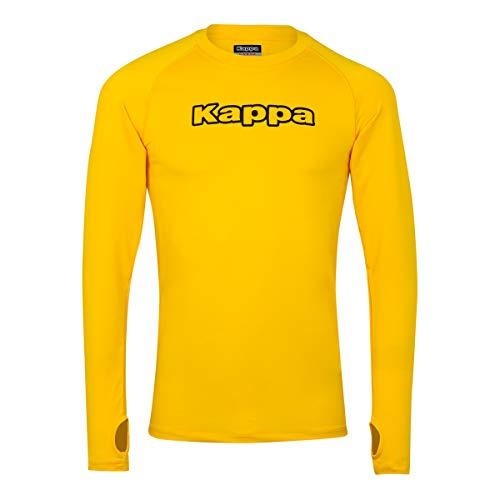 Kappa New Teramo Ls Ropa Interior, Unisex niños, Amarillo (Yellow), 6Y