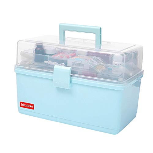 Medicine Box SAP- Pill box PP 34 * 22.5 * 20cm opbergdoos voor huishoudelijke medicijnen Veiligheid