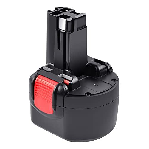 Tecmana 9,6V 3500mAh Batería para Bosch PSR 960 BAT048 BAT100 BAT119 2607335272 2607335461 GSR 9.6VE-2 PSR960 23609 32609-RT