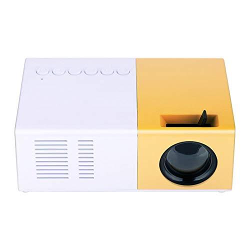 CUYT Proyector portátil, Mini proyector Elegante 1080P HDMI de Home Theater, para(European Standard (110V-240V))
