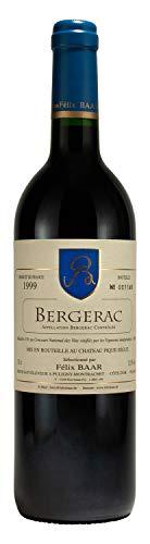 Bergerac 1999 - Preisgekrönter französischer Rotwein, Besonderer Jahrgang, Trocken, 12,5% (1 x 750ml)
