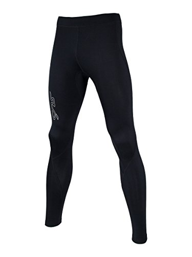 Sub Sports Fitted Cold Winter Kinder Thermo-Leggings/Tights, gebürstetes Fleece, SY, Schwarz