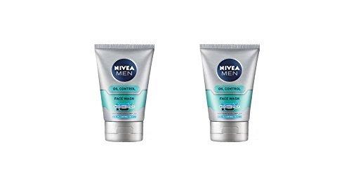 2 x Nivea Men Oil Control Face Wash 10X Whitening Effect - Whitanat Vita Complex - 100g by Nivea(Ship from India)