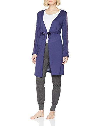 Motive Gown Pigiama, Blu (Blu Indigo 0dr), Medium (Taglia Produttore:S/M) Donna