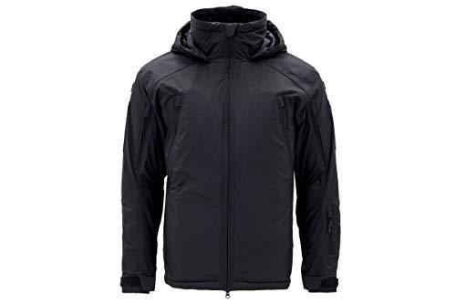 Carinthia MIG 4.0 Jacket 2019 - Winddichte, Wasserabweisende Winter-Jacke dick gefütterte, Ultra leichte Thermo-Jacke mit Kapuze (Schwarz, L)