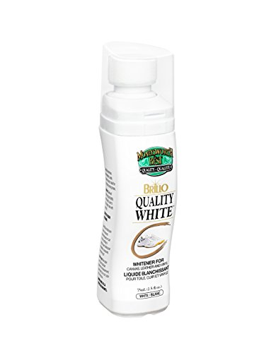 Moneysworth & Best Shoe Care Brillo Quality Whitener for Canvas, Leather, and Vinyl, White, 2.5-Ounce